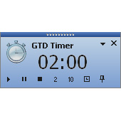 GTD Timer Screen shot